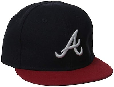 MLB Atlanta Braves Home My 1st 59Fifty Infant Cap, Size 6