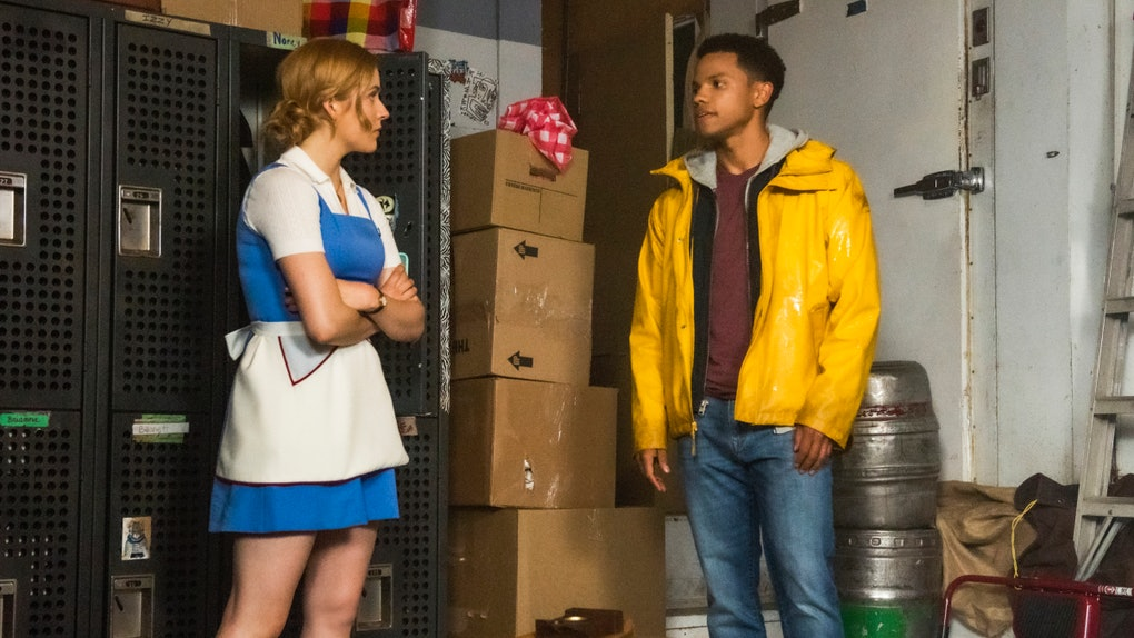Nancy Drew and Ned on the CW's 'Nancy Drew'