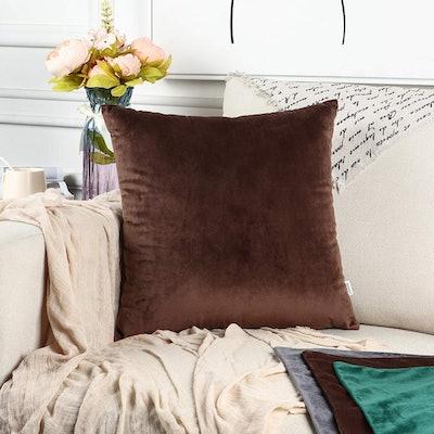 LBANI Velvet Throw Pillow