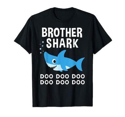 Brother Shark Shirt Doo Doo Doo for Matching Family Pajamas