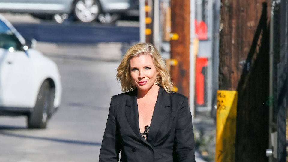 June Diane Raphael is seen arriving at 'Jimmy Kimmel Live' on September 05, 2019 in Los Angeles, California.