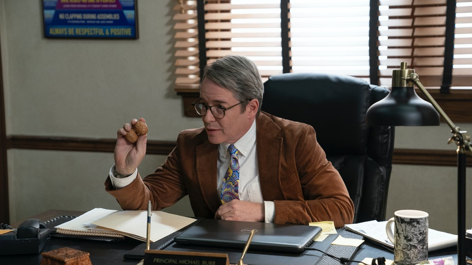 Matthew Broderick's 'Daybreak' character is a reference to 'Ferris Bueller's Day Off.'