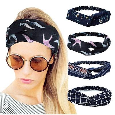 QUEXIAOMIN Headbands (4-Pack)