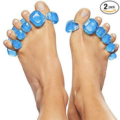 YogaToes GEMS: Gel Toe Stretcher & Toe Separator (2-Pack)