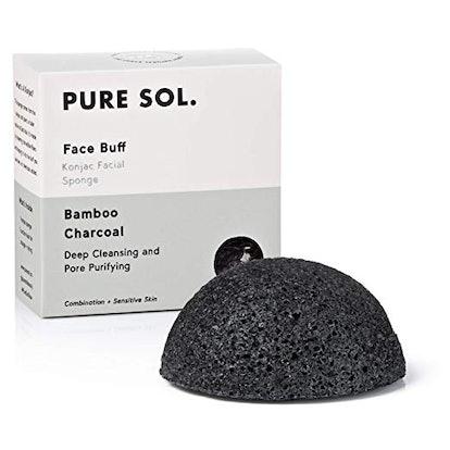 pureSOL Konjac Facial Sponge