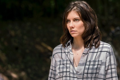 Lauren Cohan as Maggie on The Walking Dead Season 9