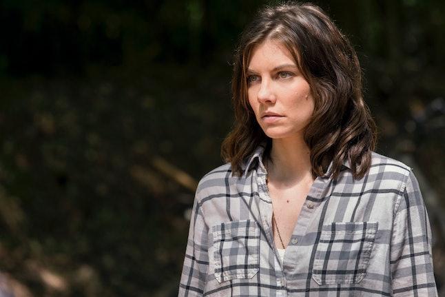 Lauren Cohan as Maggie on The Walking Dead Season 9