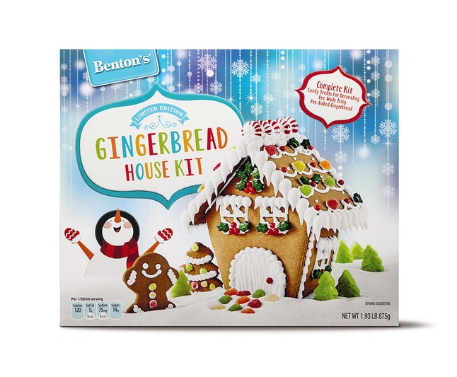 A gingerbread house is always a winner.