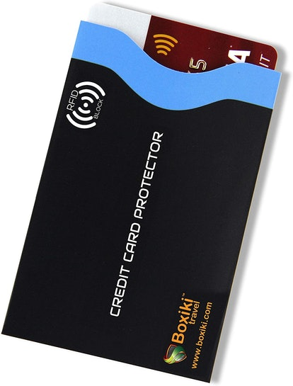 Boxiki Travel RFID Blocking Sleeves (12-Pack)