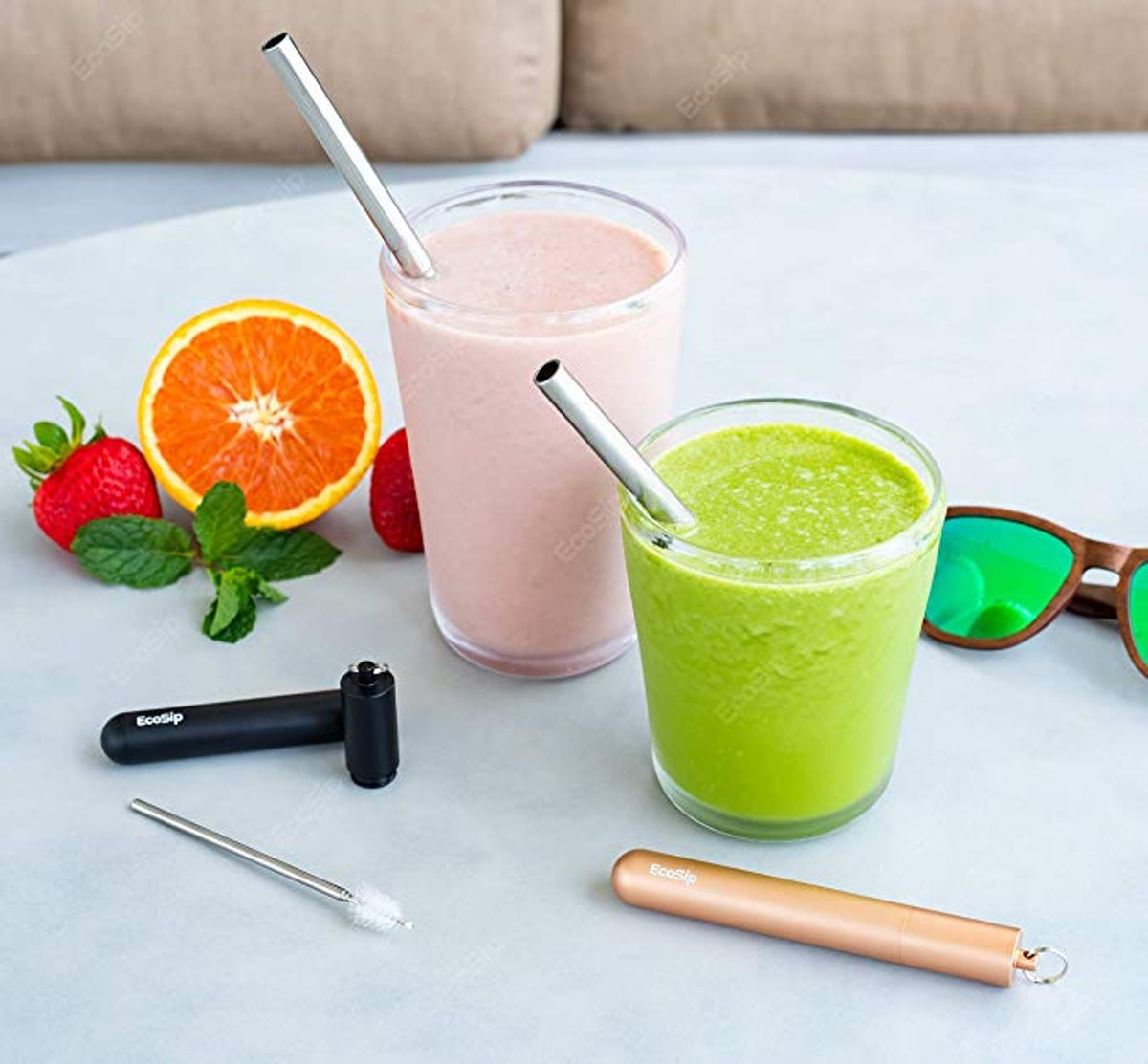 EcoSip Collapsible Telescopic Drinking Straw