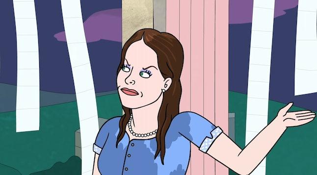 Jessica Biel (voiced by Jessica Biel) in BoJack Horseman