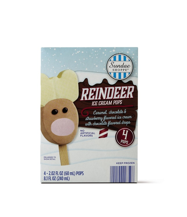 Reindeer ice cream pops mark the true start of the holiday season.