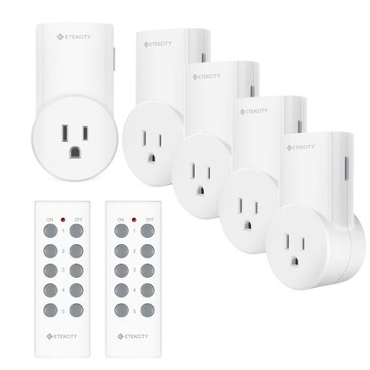 Etekcity Remote Control Outlets (5-Pack)