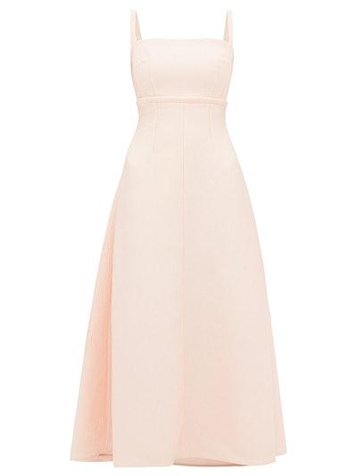 Freya Double-Cloque Dress