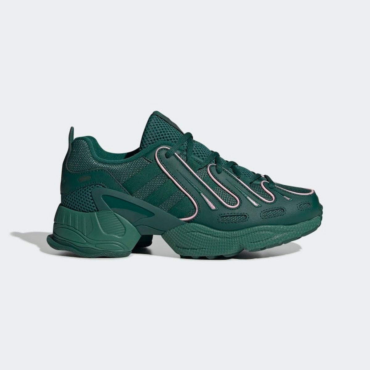 "EQT Gazelle Shoes in ""Collegiate Green"""