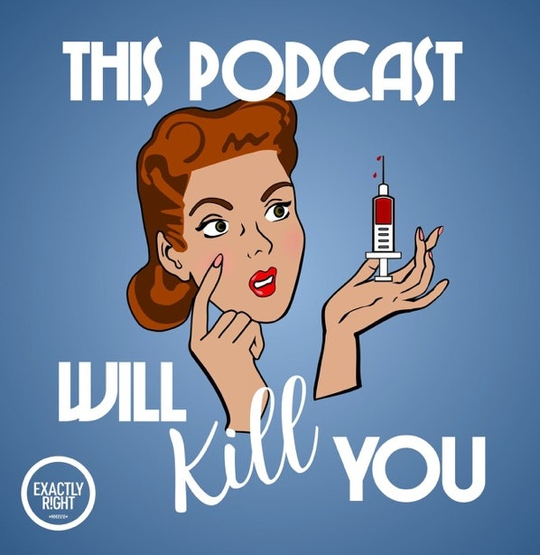 This Podcast Will Kill You will keep you motivated while you exercise.