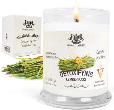 Gerard Larriett Aromatherapy Deodorizing Soy Candle for Pets