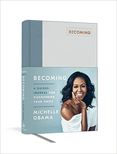 """""""Becoming: A Guided Journal for Discovering Your Voice"""" By Michelle Obama"""