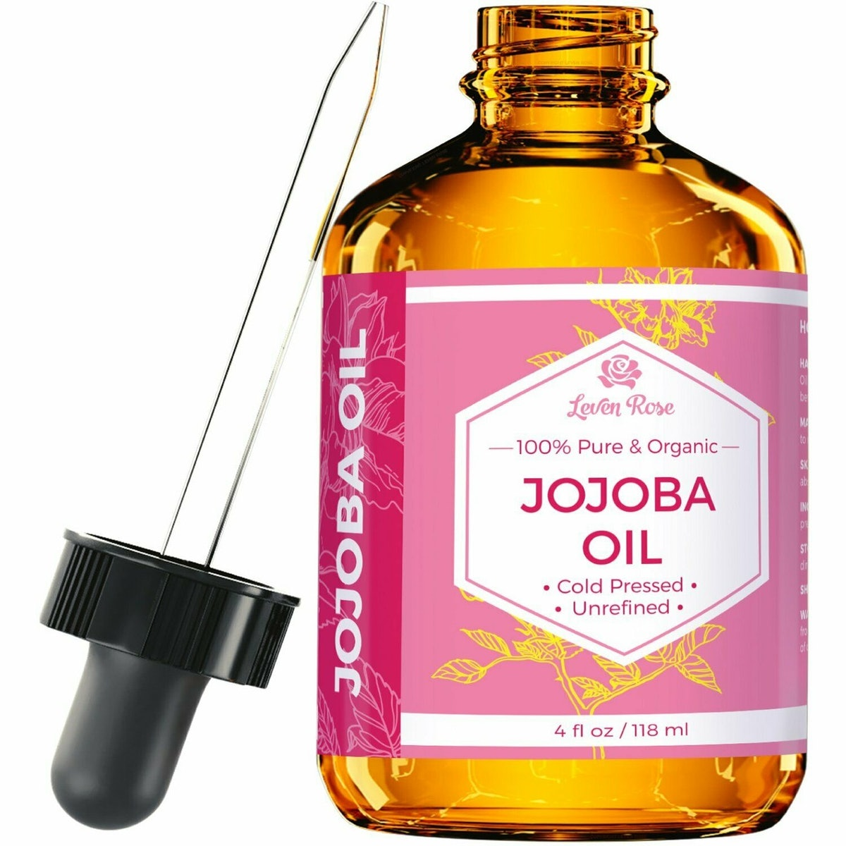 Leven Rose Cold Pressed Jojoba Oil