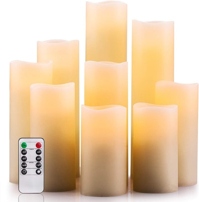Enpornk Flameless Candles (Set Of 8)