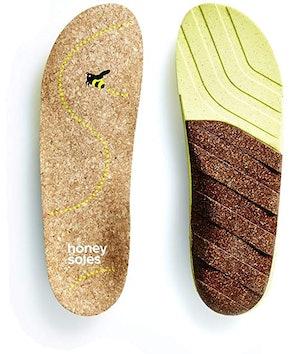 Honey Soles Natural Cork Shoe Insoles