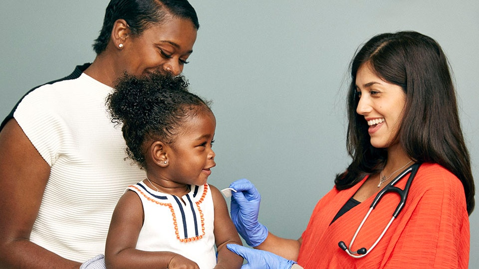 Some children as young as 18 months can get the flu shot in certain pharmacies, but you'll need to call and ask.