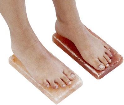 Himalayan Salt Block For Feet (2-Pack)
