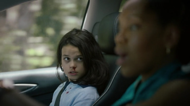 Dylan Schombing stars as Topher alongside Regina King as Angela Abar in HBO's 'Watchmen.'