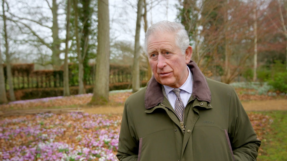 Princes Charles in The Duchy of Cornwall