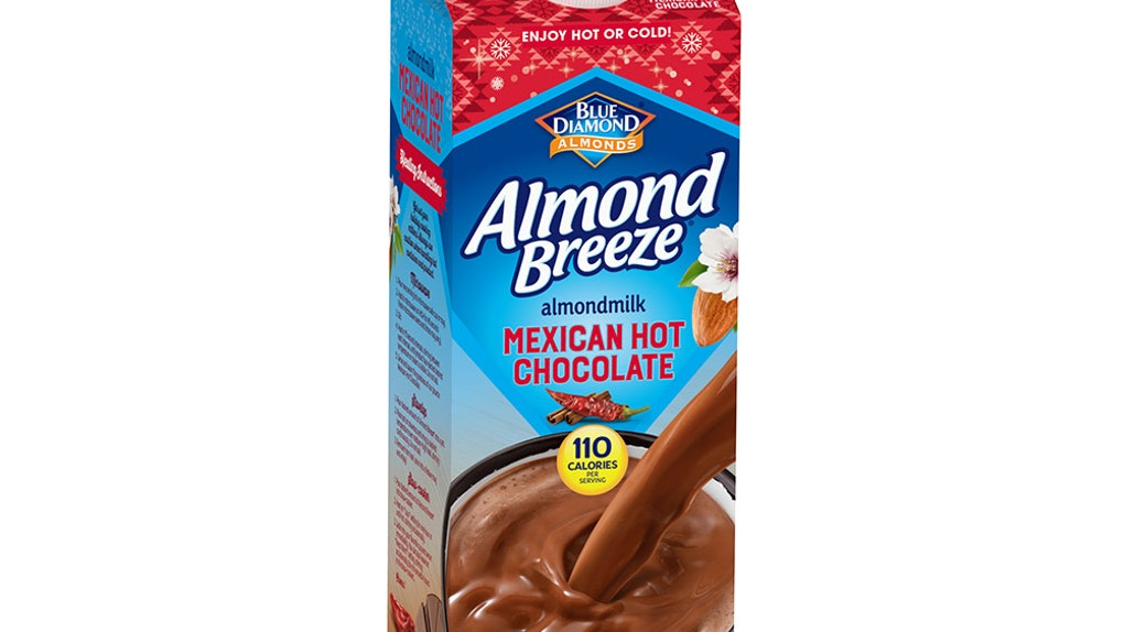 Blue Diamond Almond Breeze Mexican Hot Chocolate is like one of your fave latin drinks.