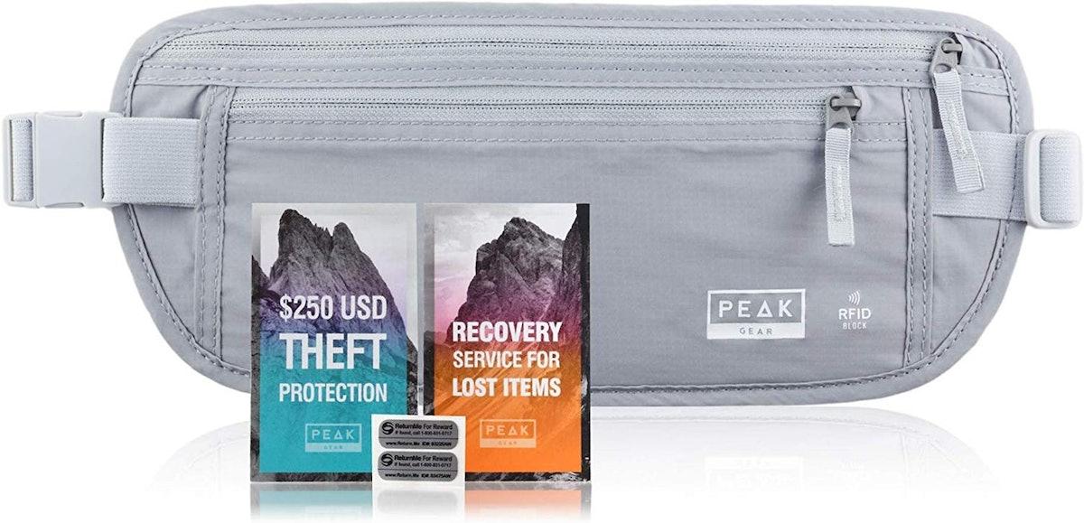 Peak Gear RDID-Blocking Travel Money Belt