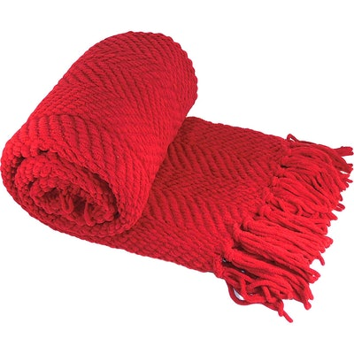 Home Soft Things Tweed Throw Blanket