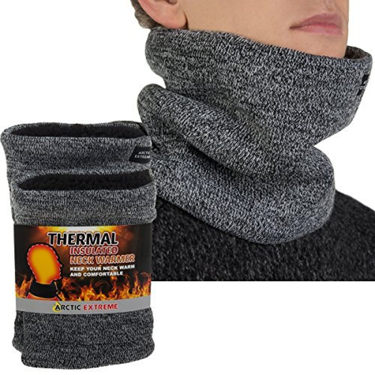 Arctic Heat Trapping Thermal Neck Warmers (2 Pack)
