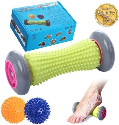 Tobrefe Foot Roller Massage Ball (3 Pieces)