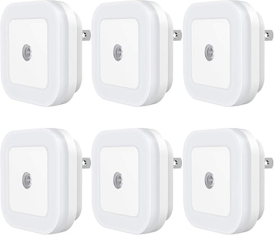 Sycees Plug-In LED Night Light (6-Pack)