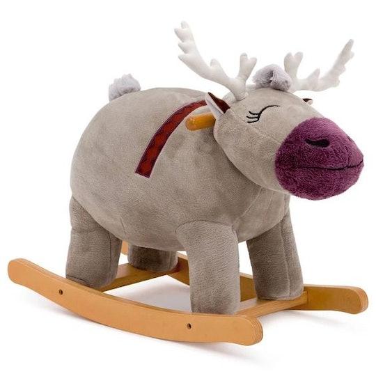Sven Plush Rocker from Delta Children, Disney Frozen 2 Plush Sven Rocking Horse