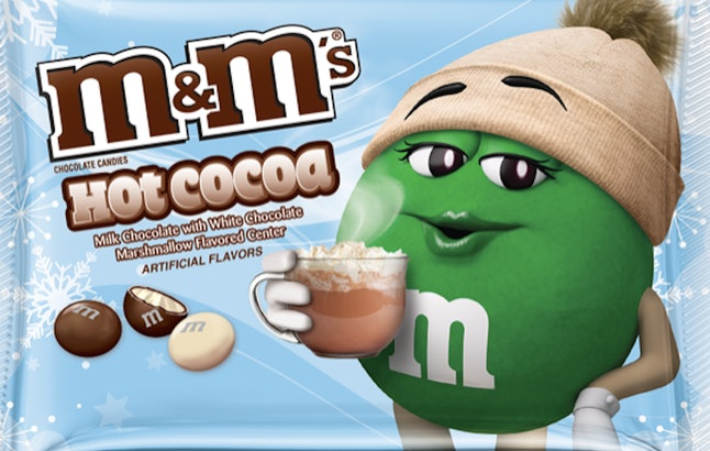Hot Cocoa M&Ms are returning to Target for the 2019 holiday season starting on Oct. 27.