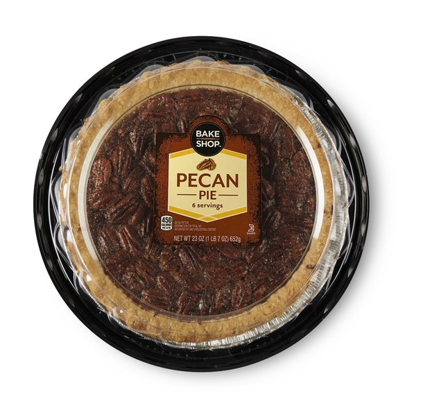 Pecan pie is a classic holiday treat.