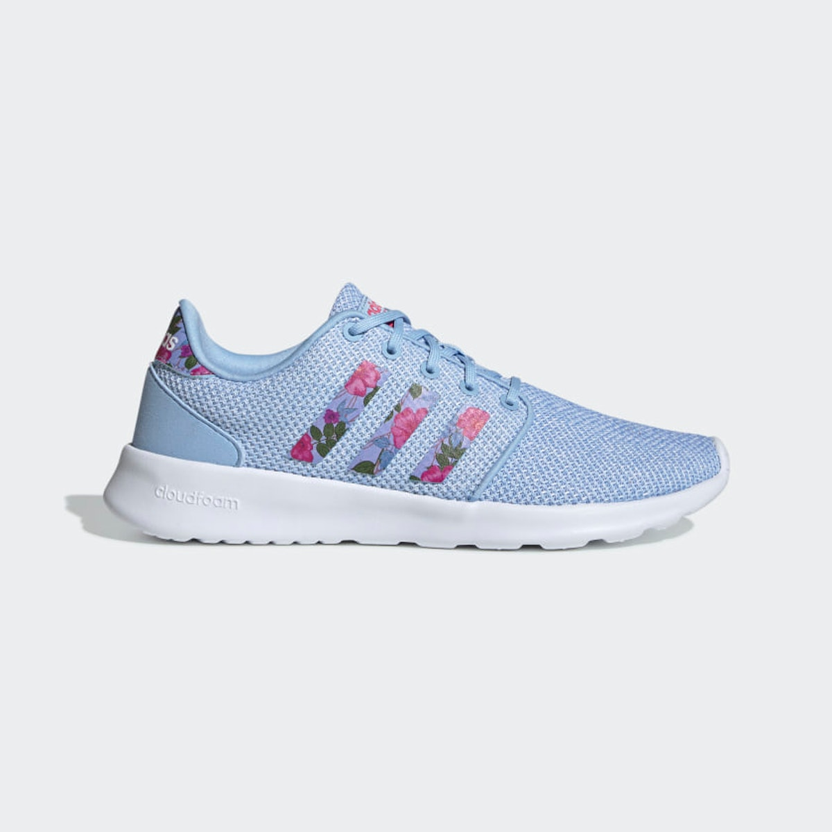 "QT Racer Shoes in ""Glow Blue"""