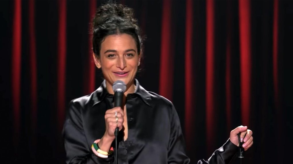 Jenny Slate in comedy special Stage Fright on Netflix