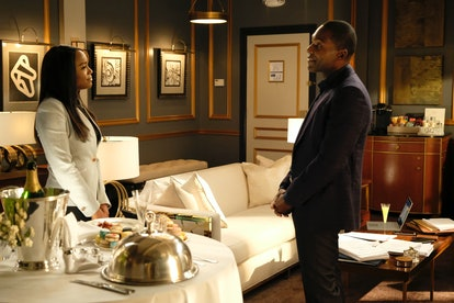 Ray Campbell as Michaela's dad in HTGAWM.