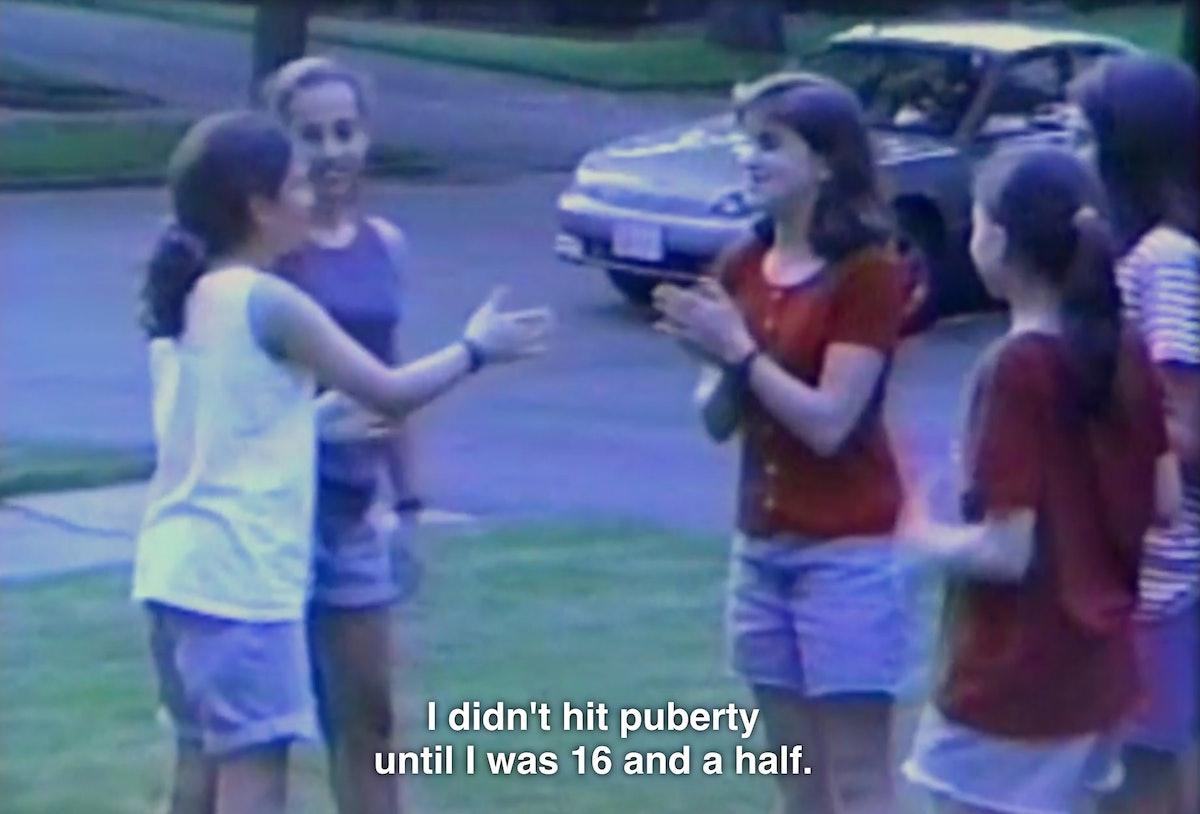 Jenny Slate Netflix special Stage Fright talking about puberty