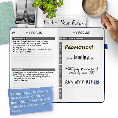 Papercode Simple Elephant Planner For Achieving Goals and Living Happier