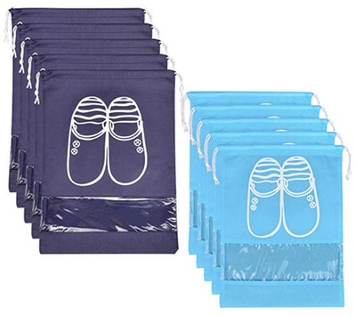 SPIKG Portable Shoe Bags (10 Bags)