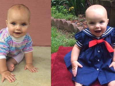 "Baby Dressed Like Michelle Tanner from ""Full House"""
