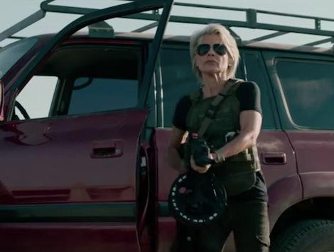 Linda Hamilton as Sarah Connor in Terminator: Dark Fate