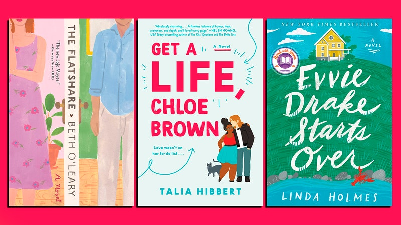 In 'The Flatshare,' 'Get A Life, Chloe Brown,' And 'Evvie Drake Starts Over,' (all pictured above) three authors tackle abusive relationships.