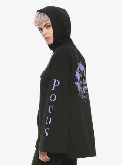 Her Universe Hocus Pocus Bell Sleeve Hoodie