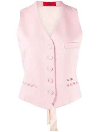 Power Buttoned Waistcoat