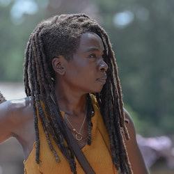 Danai Gurira as Michonne - The Walking Dead _ Season 10, Episode 4.